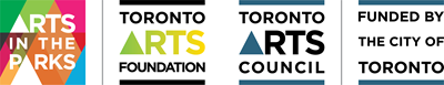 Arts in the Parks combination logo