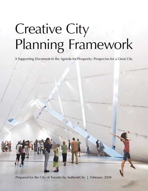 Creative City Planning Framework (2008)